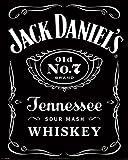 empireposter Jack Daniels - Label - Whiskey Bars