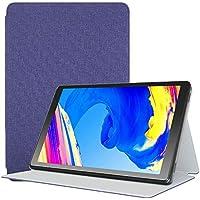 YGoal Funda para Tablet 10 Pulgadas - Multiángulo PU Cuero Folio Carcasa para Vankyo MatrixPad S20 10 Pulgada, YUNTAB 10.1 Pulgada D107 y Prixton T9120 10.1 Pulgada, Azul