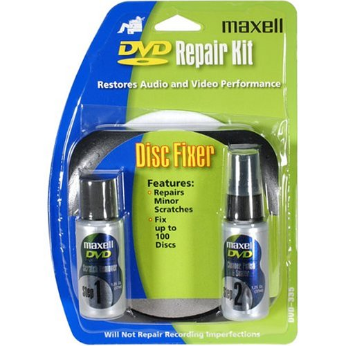 MAXELL DVD-335 DVD Scratch and Repair Kit (Discontinued by Manufacturer)