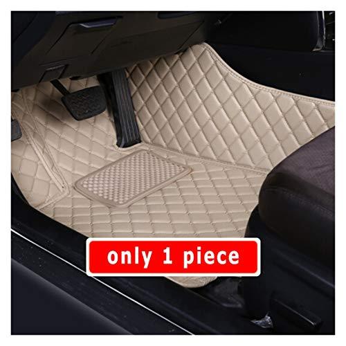 Alfombrillas de Coche Alfombras de Piso de Coches Alfombras Interiores Compatible con Volvo V60 2019 2020 Automóviles Protector de Estilo Cubiertas de Cuero Impermeable Cuero
