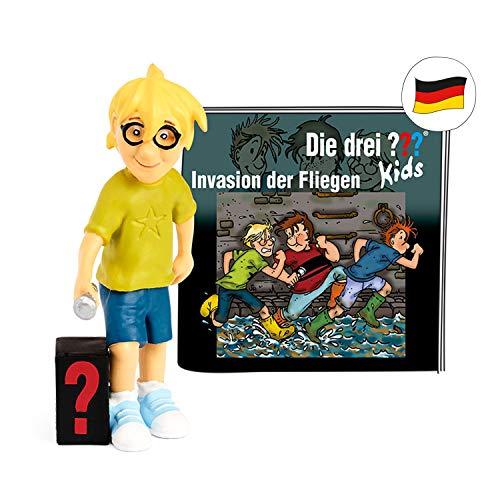 tonies Hörfiguren für Toniebox - Die DREI ??? Kids - Invasion der Fliegen - ca. 60 Min. - Ab 6 Jahre -DEUTSCH