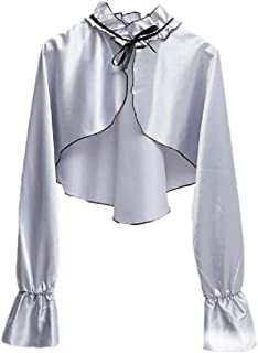 Abetteric Women Kimono Cardigan Long Sleeve Ruffled Swimwear Bikini Cover-up