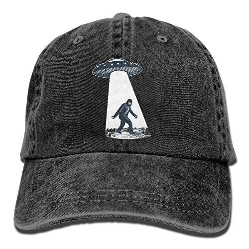 YHDE UFO Bigfoot Vintage Adjustable Jean Cap Gym Caps ForAdult