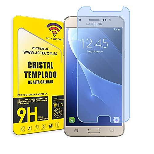 actecom® Protector Pantalla Compatible con Samsung Galaxy J7 J710F 2016 Cristal Vidrio...