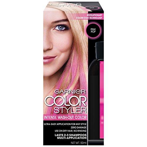 Garnier Hair Color Styler Intense Wash-Out Color, Pink Pop