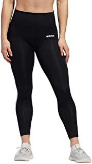 adidas Women's 7/8 3S 3 Stripes Training Tights Black