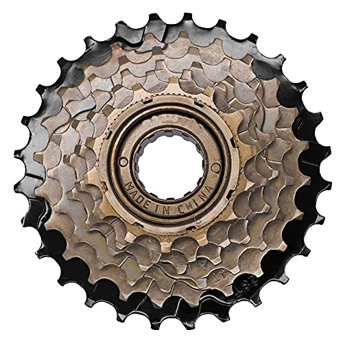 Yisily Cassette De 6 Velocidades, Rueda Libre De Bicicletas, Accesorios para Bicicletas, 6 Velocidades Spinning Freewheel Flywheel Towre Rueda Accesorios De Bicicleta