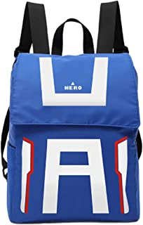 GK-O My Hero Academia Backpack Shoulder bag Schoolbag knapsack Laptop bag Cosplay Costume (Gym suit style)