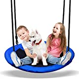 PACEARTH 40 Inch Saucer Tree Swing Flying 660lb...