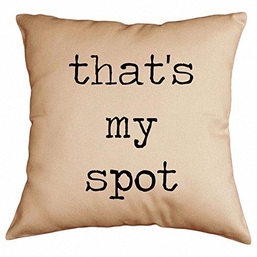 Retrospect Group That's My Spot Throw Pillow
