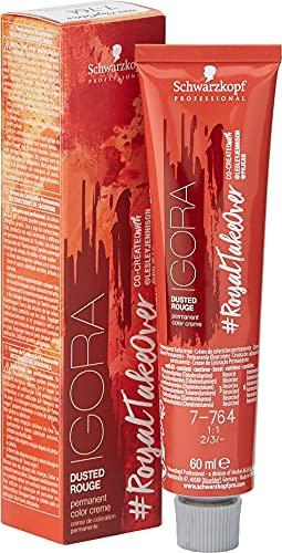 Schwarzkopf Professional Coloración permanente 7-764 rubio medio beige chocolate cobre - 60 ml