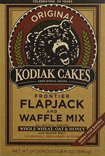 Kodiak Cakes Whole Wheat Honey Oat Flapjack/waffle Mix 24 Oz One Box by Kodiak Cakes (Beauté et hygiène)