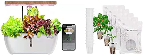 discount VIVOSUN high quality Hydroponics Growing new arrival System with Wireless Control and Grow Basket outlet sale