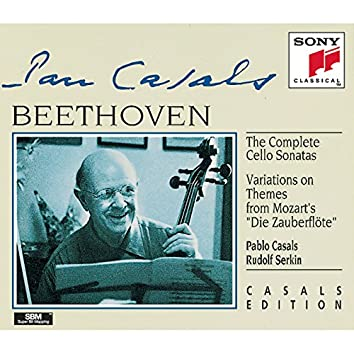 Beethoven: Complete Cello Sonatas & Variations on Zauberflöte Themes