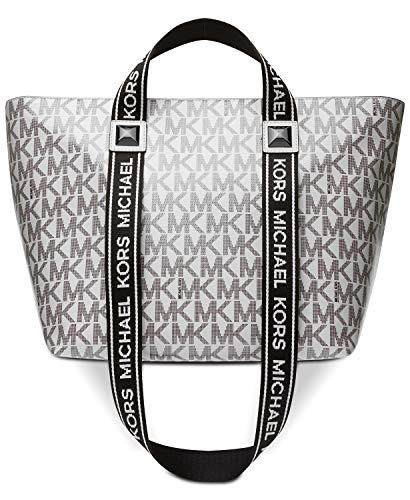 "Extra-large sized bag; 16-3/4""W x 11""H x 7""D (width is measured across the bottom of handbag); 3""L handles; 10-1/2""L strap drop Zip closure 1 interior zip pocket & 4 slip pockets Laptop compatible (std. size 13""-15"")"