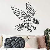 wZUN Gran águila Pegatinas de Pared Impermeables decoración del hogar habitación de los niños decoración Natural calcomanía de decoración 28X30cm