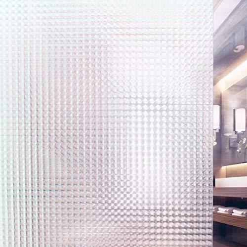 Tamia-Living milchglasfolie Fensterfolie Milchglas Duschkabinen Blickdicht Folie Fenster Selbstklebend Sichtschutzfolie Sichtschutz Statisch Haftend Glasdekor Insektenaugen S010 (60 * 150cm)
