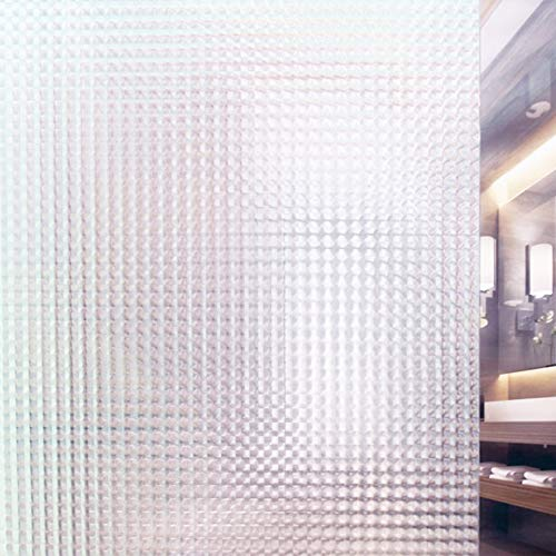 Tamia-Living Statische raamfolie, 90% uv-zonwering, zelfklevend, glasdecoratie, insectenogen S010