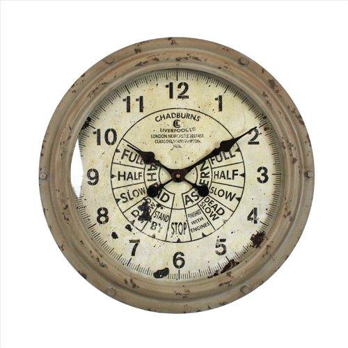 壁掛け時計 スロットルウォールクロック