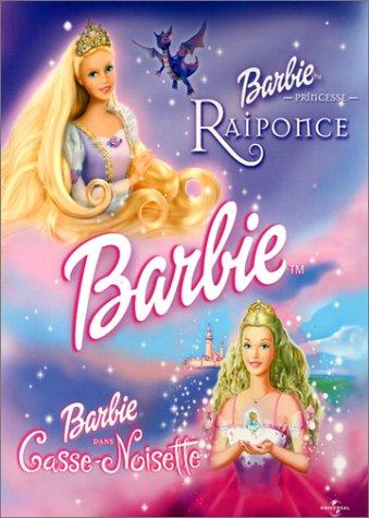 Barbie : Princesse Raiponce / Casse-noisette - Coffret 2 DVD