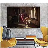Edward Hopper lienzo pintura impresiones sala de estar decoración del hogar obra de arte moderno arte de la pared pintura al óleo carteles imágenes-50x75cm Sin marco