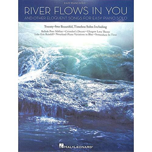RIVER FLOWS IN YOU en andere eloquent songs - piano notenboek met de populairste melodieën van Yiruma, Yann Diersen, YJaar Ludovico Einaudi enz. - Uitgave piano licht (noten)