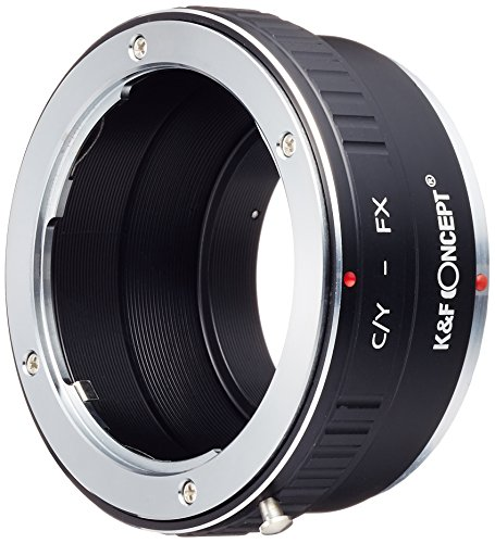 K&F Concept レンズマウントアダプター KF-CYX (ヤシカ・コンタックスマウントレンズ → 富士フィルムXマウント変換)