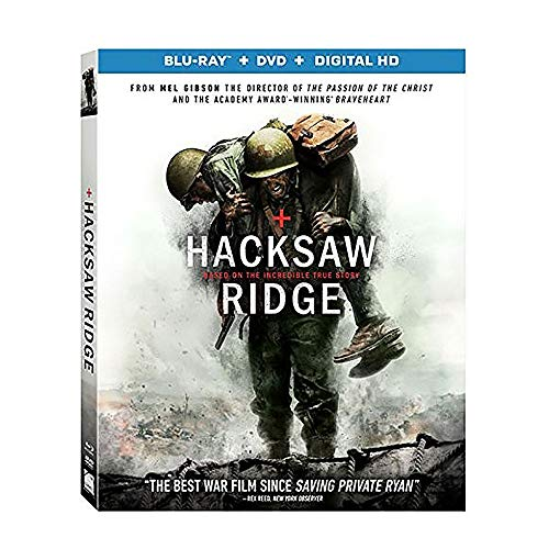 Hacksaw Ridge [Blu-ray + DVD + Digital] [Region 1] [Blu-ray]