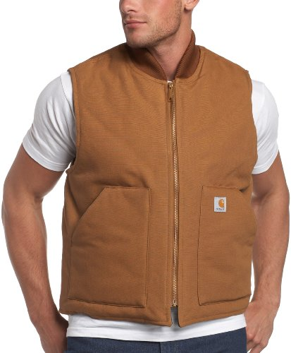Carhartt Veste hiver arctique veste doublée chaud V01, couleur:carhartt brun;pointure:XXXL