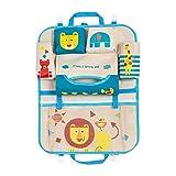 DoMyfit, portaoggetti per sedile posteriore auto per accessori da viaggio per bambini, da appendere al sedile