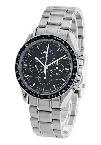 Omega Men's 3576.50 Speedmaster Moon Phase Mechanical Chronograph Watch