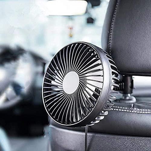 Fanático del coche En los fanáticos del ventilador de automóviles para automóviles en ventilador de automóviles Ventilador del refrigerador para el vehículo USB del automóvil Enchufe el ventilador de
