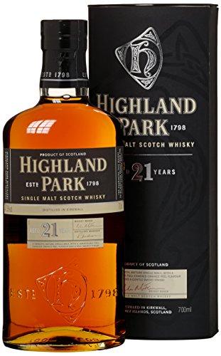Highland Park 21 Years Old mit Geschenkverpackung  Whisky (1 x 0.7 l)