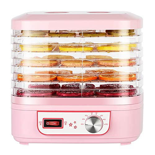 Best Buy! Food Dehydrator Portable Electric Machine Food Fruit Dehydrator Adjustable Thermostat W/ 5...