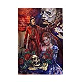 Trisom Home Decoration Picture Boys and Girls Wooden Puzzles Game The Phantom of The Opera Arts Jigsaw Puzzles for Adults and Kids 1000 Pieces