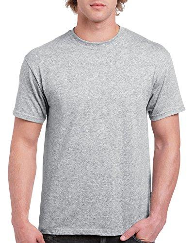 Gildan Men's G2000 Ultra Cotton Adult T-Shirt, Sport Grey, Medium
