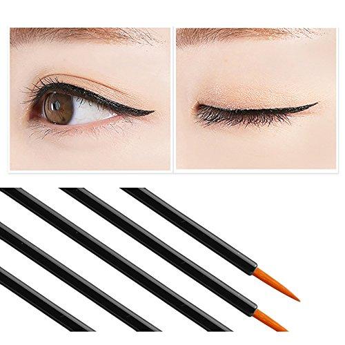 50 Stück Einweg Eyeliner Pinsel Applikator Auge Stange Kosmetische Werkzeug