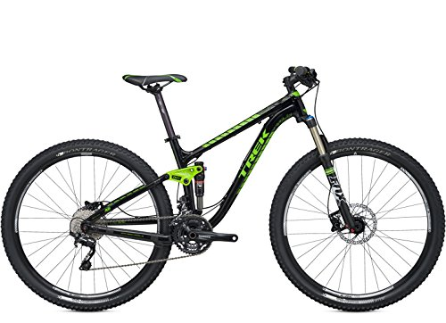Trek Fuel EX 7 29' - Mountainbike Negro Verde 2014 RH 15,5'