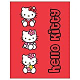 Hello Kitty forro polar-manta, niños colcha/manta preciosos