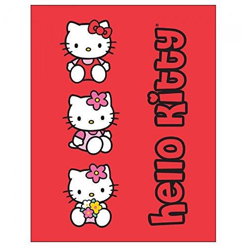 Hello Kitty Fleece-Linzendecke, Kindersteppdecke...