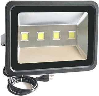 LED Flood Light Outdoor Waterproof - AI YONG LED 200W Street Light Illumination Equivalent to 1000W Halogen Bulb SUPER BRIGHT 6000k White Light 85-265V 50,000 Hrs Life 2 Year Warranty