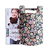 Bebamour Baby Dolls Carriers for Kids Cotton Front and Back Carrier for Carrying