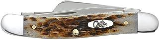 Case XX WR Pocket Knife Amber Bone Medium Stockman Item #042 – (6318 SS) –..