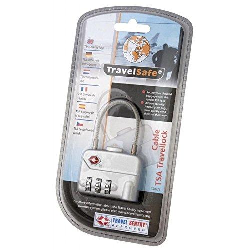 TravelMate elsafe Candado Cable TSA