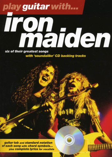 Play Guitar With Iron Maiden Book & CD