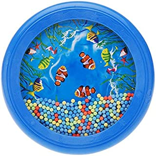 Ocean Drum Wave Bead Drum Gentle Sea Sound Music Gift Musical Educational Toy Tool for Kid Child Baby