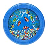 Ocean Drum Wave Bead Drum Gentle Sea Sound Music Gift Musical Educational Sea Sound Drum Tool for Kid Child Baby