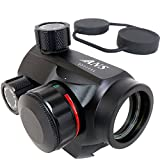 ANS OPtical lightweight and compact AIMPOINT type T1 Style Dot Sight Dutt site red green 5 stage adjustment (japan import)