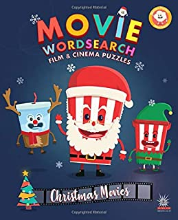 Movie Wordsearch Film & Cinema Puzzles - Christmas Movies (Popcorn Movie Wordsearch)