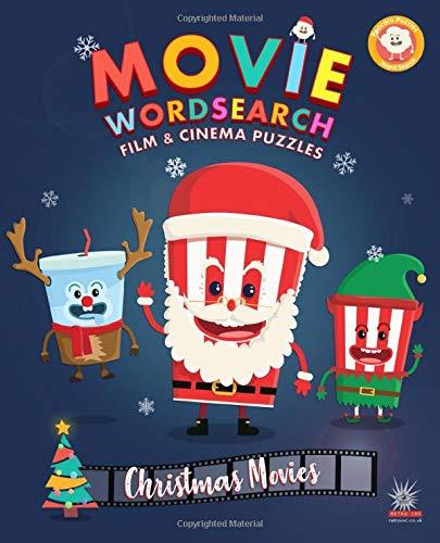 Movie Wordsearch Film & Cinema Puzzles - Christmas Movies (Popcorn Movie Wordsearch)